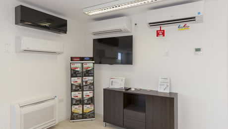 Heat Pumps Showroom